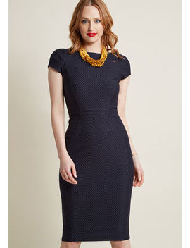 Closet London Come Sleek For Yourself Sheath Dress Closet London Come Sleek For Yourself Sheath Dress by Closet London