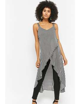 Striped Tulip Hem Tunic by Forever 21