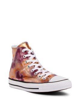 Chuck Taylor All Star Metallic High Top Sneaker (Unisex) by Converse