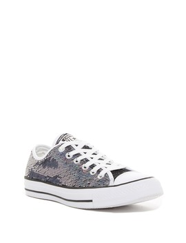 Chuck Taylor All Star Sequin Low Top Sneaker (Women) by Converse