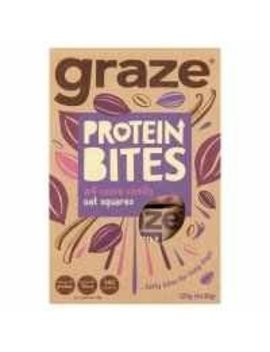 Graze Protein Bites Cocoa Vanilla Oat Squares 120g (4x30g) Pack Of 1 by Graze