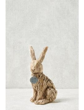 Driftwood Effect Bunny Hanging Decoration by Next