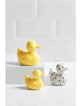 Set Of 3 Ducks by Next