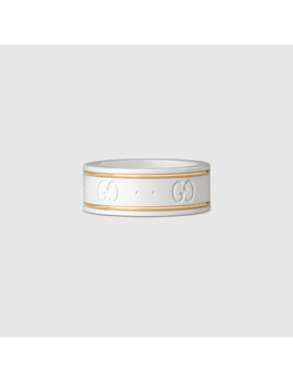 Ring Icon Aus Gelbgold by Gucci