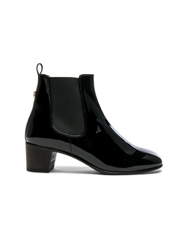 Patent Leather Hely Boots by Acne Studios
