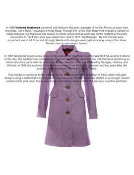 Vivienne Westwood Purple Coat by Etsy