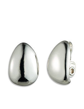 Clip Button Earrings by Anne Klein