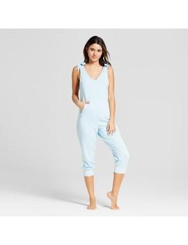 Women's Sleep Playsuit   Xhilaration™ Light Blue by Xhilaration™