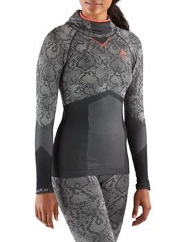Odlo   Blackcomb Evolution Warm Base Layer Shirt W/ Face Mask   Women's by Rei