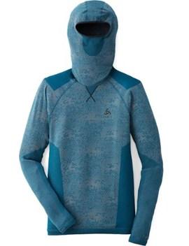 Odlo   Blackcomb Evolution Warm Long Underwear Shirt W/ Face Mask   Men's by Rei
