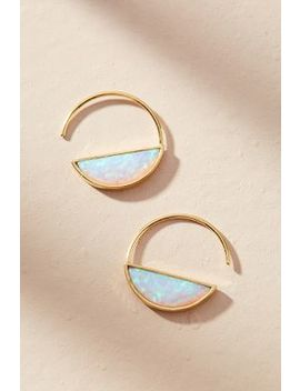 Cadence Hugger Hoop Earrings by Anthropologie