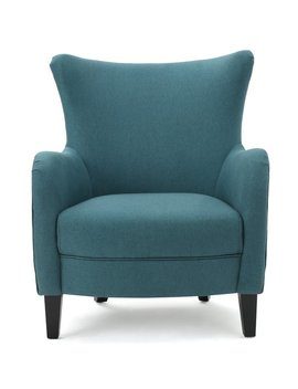 Nisha Fabric Club Chair by Beachcrest Home