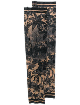 Aloha Print Tattoo Sleeves by Dsquared2