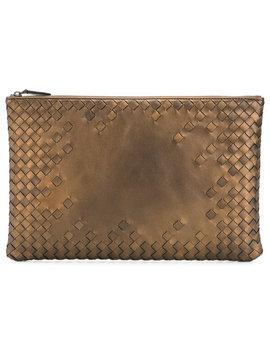 Intrecciato Clutch Bag by Bottega Veneta