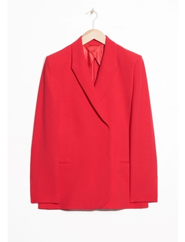 Straight Fit Blazer by & Other Stories