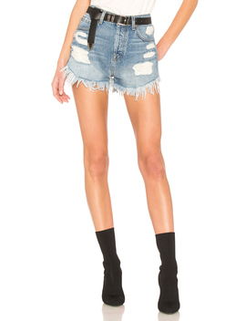 Hw Cut Off Short With Scallop Frayed Hem by 7 For All Mankind