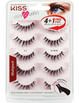Ever Ez Lashes #11, Multipack by Kiss
