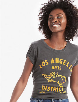 Downtown Arts Tee by Lucky Brand