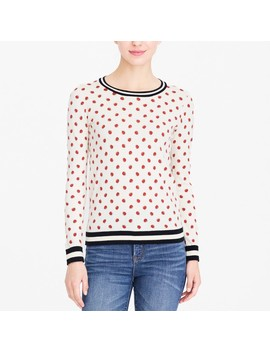 Lady Bug Teddie Sweater by J.Crew