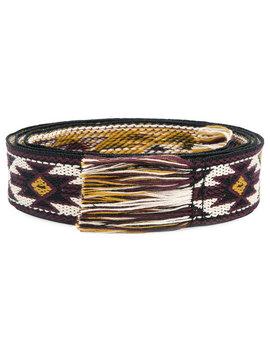 Woven Fringe Belt by Isabel Marant
