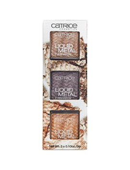 Liquid Metal Eyeshadow Trio by Catrice