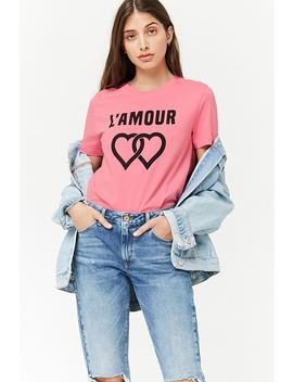 Heart Graphic Tee by Forever 21
