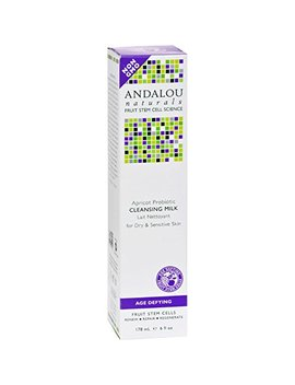 Andalou Naturals Cleansing Milk Apricot Probiotic 178ml by Andalou
