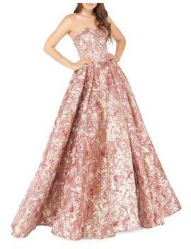 Glitter Sweetheart Neckline Ball Gown by Mac Duggal