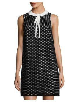Joelle Perforated Shift Dress by Ce Ce By Cynthia Steffe