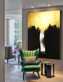 Gold Painting, Gold Abstract, Painting Acrylic, Painting On Canvas, Handmade Original, Gold Art, Wall Artwork, Home Decor, Artwork Gold, Art by Etsy