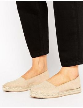 Park Lane Embossed Suede Espadrilles by Shoes