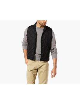 Quilted Down Vest by Dockers