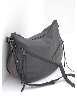 Lola Grey Zip Hobo Bag by Mint Velvet