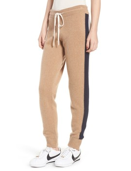 Side Stripe Cashmere Track Pants by Juicy Couture