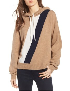 Stripe Cashmere Hoodie by Juicy Couture