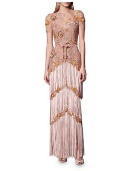 embellished-fringed-column-gown by marchesa-notte