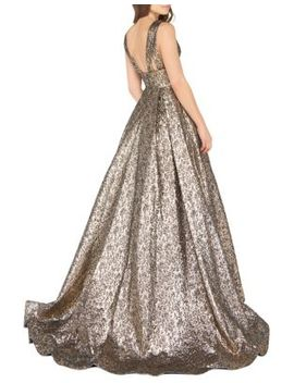 metallic-ballgown by mac-duggal