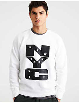 Ae Nyc Crew Neck Sweatshirt by American Eagle Outfitters