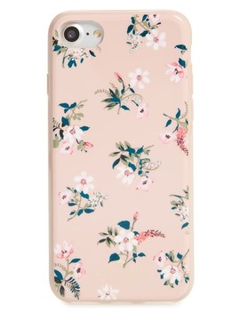 Jeweled Flora I Phone 7/8 & 7/8 Plus Case by Kate Spade New York