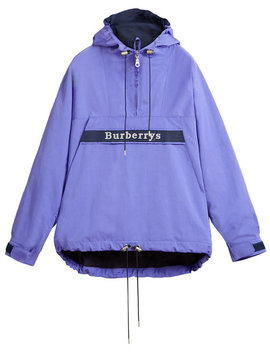 Reissued Hooded Anorak by Burberry