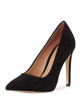 Terri Suede High Pump by Halston Heritage