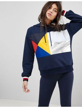 Tommy Hilfiger Flag Hoodie by Tommy Hilfiger
