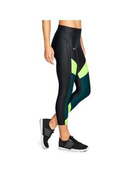 Women's Under Armour Heat Gear Color Block Ankle Crop Leggings by Kohl's