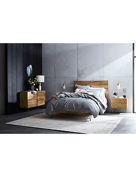 Roar + Rabbit For West Elm Geo Bed Frame, Double by West Elm