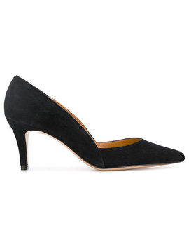Pointed Toe Pumps by Ganni