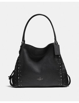 Edie Shoulder Bag 31 With Prairie Rivets by Coach