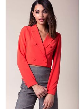 Maxine Button Blazer by A'gaci
