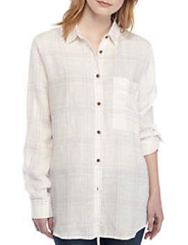 No Limits Plaid Button Down by Free People