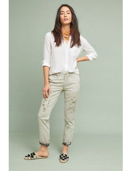 Relaxed Patched Chino Pants by Chino By Anthropologie