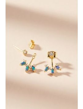 Trina Front Back Earrings by Anthropologie